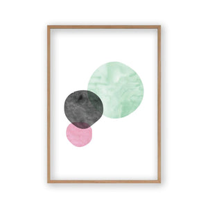 Bubbles Watercolour Print - Blim & Blum