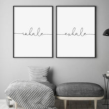 Load image into Gallery viewer, Inhale Exhale - Set Of 2 Prints - Blim & Blum