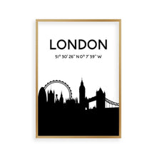 Load image into Gallery viewer, London Skyline Print - Blim & Blum