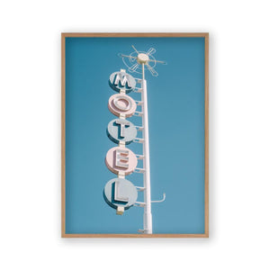 Motel Sign Print - Blim & Blum