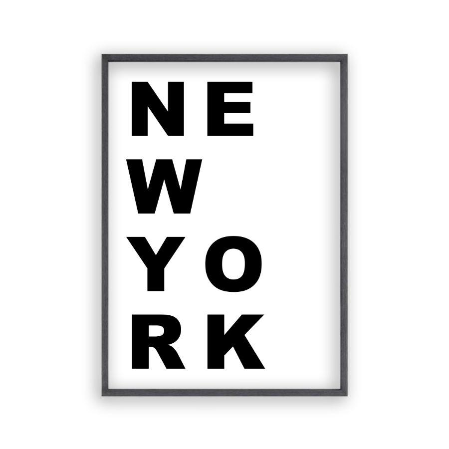 New York Print - Blim & Blum