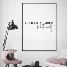 Official Member Do Bits Society Print - Blim & Blum
