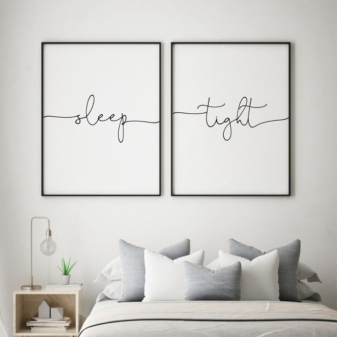 Sleep Tight - Set Of 2 Prints - Blim & Blum