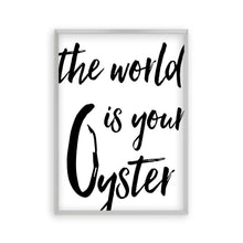 The World Is Your Oyster Print - Blim & Blum