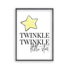 Load image into Gallery viewer, Twinkle Twinkle Little Star Print