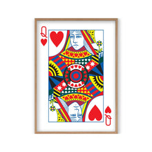 Load image into Gallery viewer, Queen Of Hearts Print