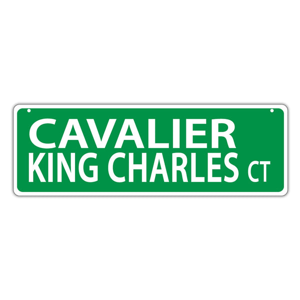 Street Sign - Cavalier King Charles Court
