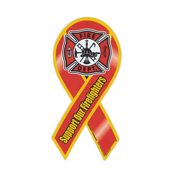 Ribbon Magnet - Support Firefighters
