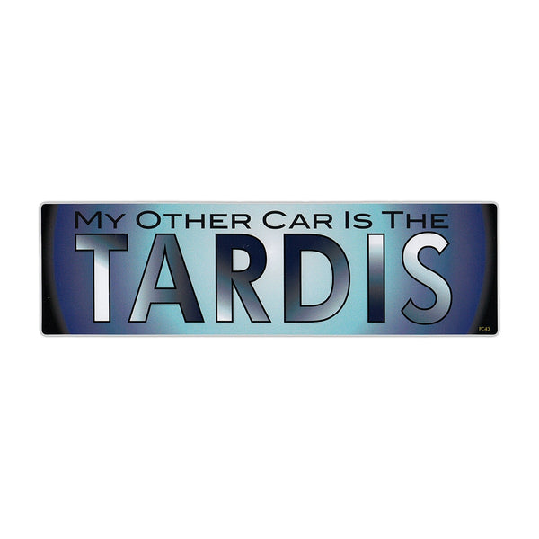 Bumper Sticker - My Other Car Is The Tardis