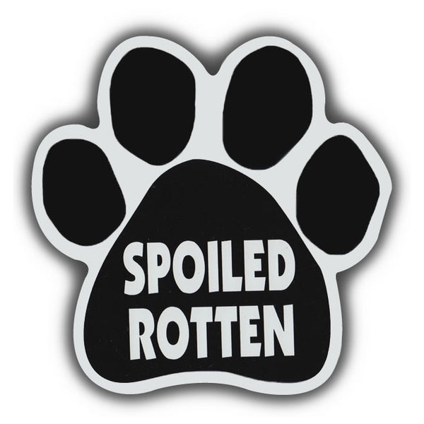Dog Paw Magnet - Spoiled Rotten