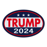 Oval Magnet - Donald Trump 2024