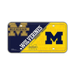 Embossed Aluminum License Plate Cover - University of Michigan