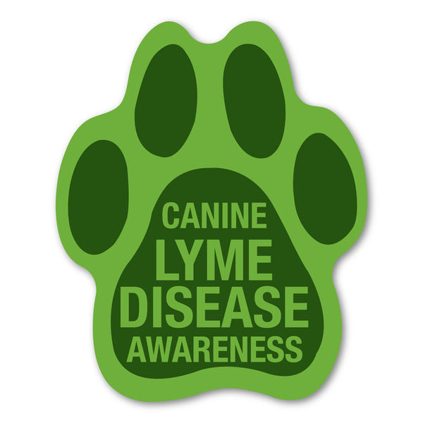"Magnet - Canine Lyme Disease Awareness (4.5"" x 5.5"")"