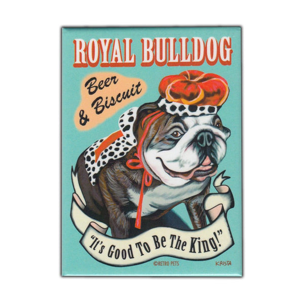 Refrigerator Magnet - Royal Bulldog Beer and Biscuit