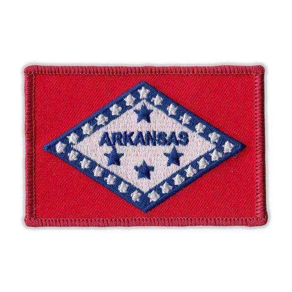 Embroidered Patch - Arkansas State Flag