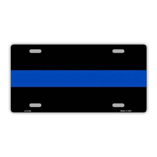 Thin Blue Line, Police Officer Plate