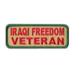 Patch - Iraqi Freedom Veteran