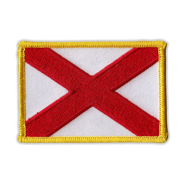 Embroidered Patch - Alabama State Flag