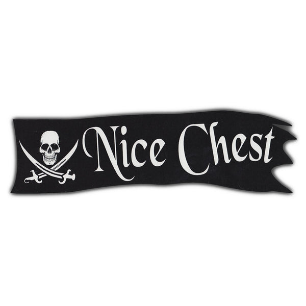 Bumper Sticker - Nice Chest