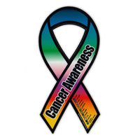 Ribbon Magnet - Cancer Awareness Support