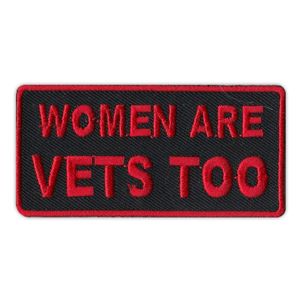Patch - Women Are Vets Too