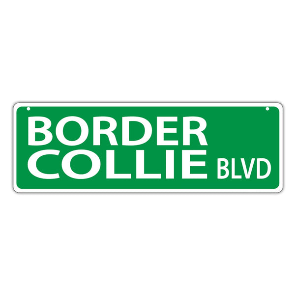 Street Sign - Border Collie Court
