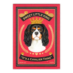 Refrigerator Magnet - Sweet Little King It's A Cavalier Thing
