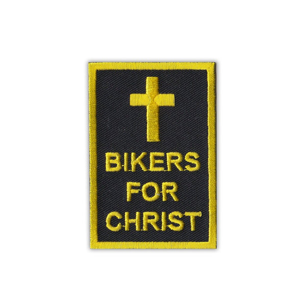 Patch - Bikers For Christ Cross
