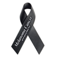 Ribbon Magnet - Melanoma Cancer Awareness