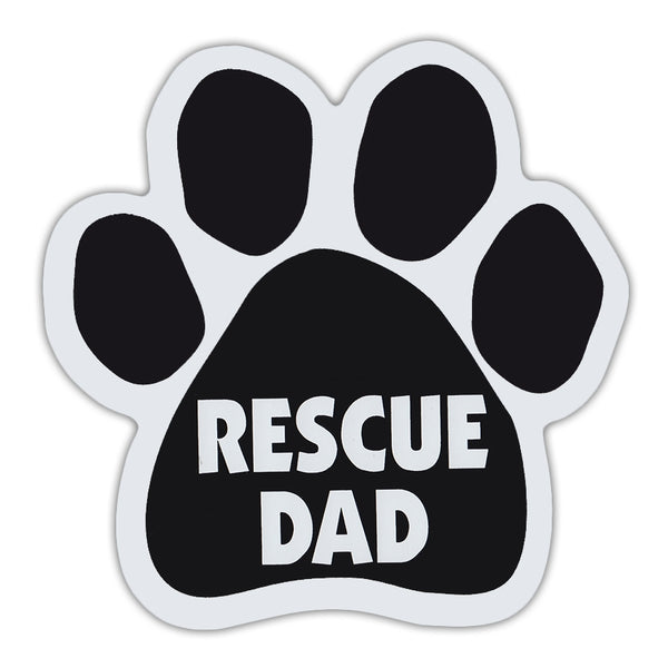 Paw Magnet - Rescue Dad