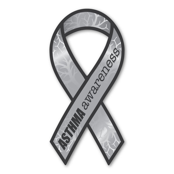 Ribbon Magnet - Asthma Awareness