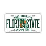 Aluminum License Plate Cover - (Seminoles) Florida State