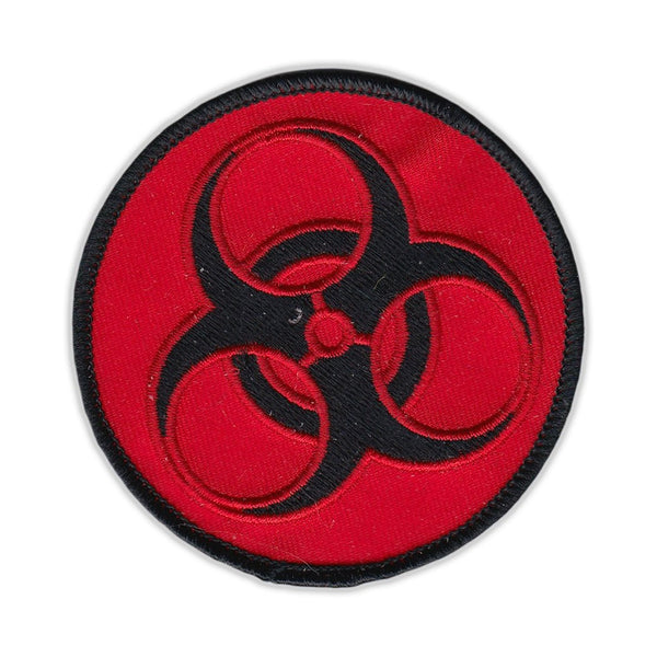 Patch - Zombie Symbol (Red and Black)