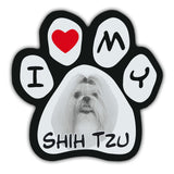 Picture Paw Magnet - I Love My Shih Tzu