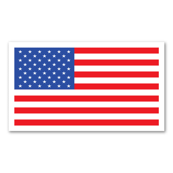 "Magnet - Clean-Look, United States Flag (7"" x 4"")"