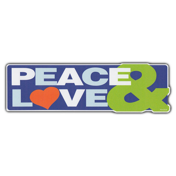 Bumper Sticker - Peace & Love