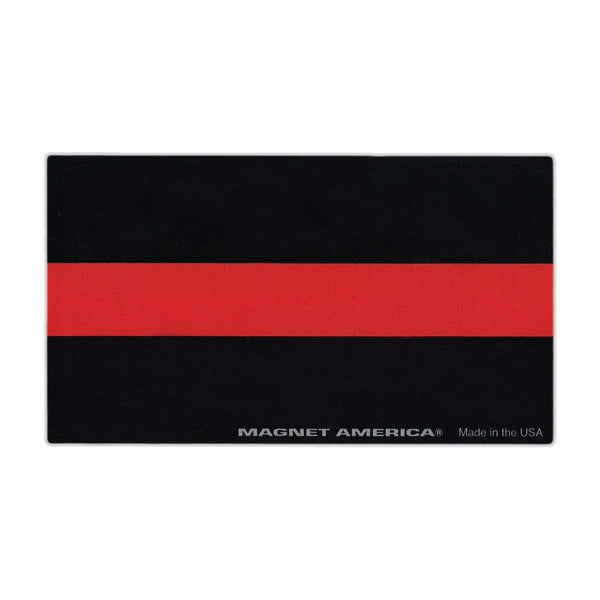 "Magnet - Thin Red Line (5"" x 2.75"")"