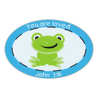 Oval Magnet - You Are Loved (John 3:16)