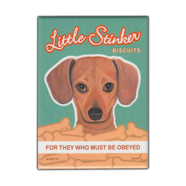 Refrigerator Magnet - Little Stinker Biscuits