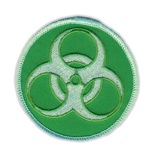 Patch - Zombie Symbol (Green)