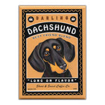 Refrigerator Magnet - Darling Dachshund, Best Friend Blend Coffee