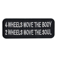 Patch - 4 Wheels Moves Body, 2 Wheels Moves Soul