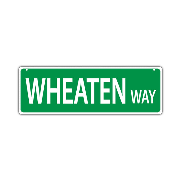 Street Sign - Wheaten Way