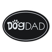 Oval Magnet - Dog Dad