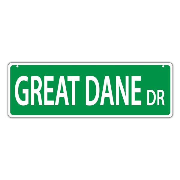 Street Sign - Great Dane Drive