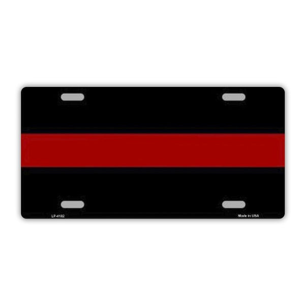 Thin Red Line, Firefighter Plate