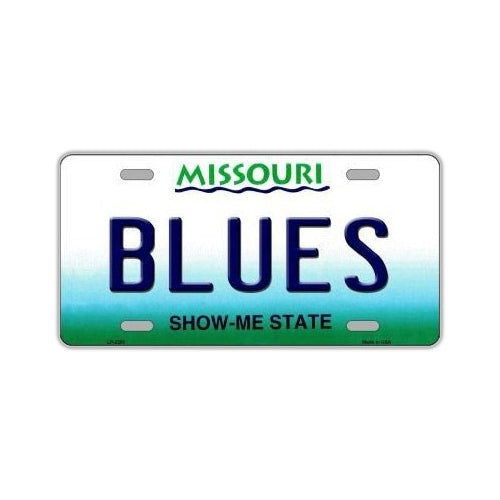 NHL Hockey License Plate Cover - St. Louis Blues