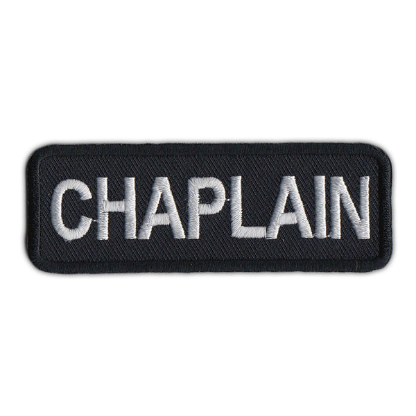 Embroidered Patch - Chaplain