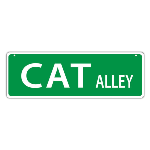 Street Sign - Cat Alley