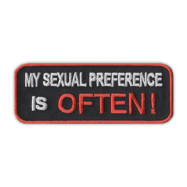 Patch - My Sexual Preference Is Often!